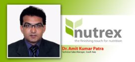 Nutrex NV appointed Dr. Amit Kumar Patra as a Technical Sales Manager