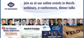 VIV online events in march: webinars, e-conference, dinner talks