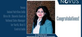 Novus Animal Nutrition India Hires Dr. Shaveta Sood as National Sales Manager