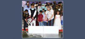 জাতীয় মৎস্য সপ্তাহ উপলক্ষ্যে বঙ্গভবন পুকুরে মাছের পোনা অবমুক্ত করলেন রাষ্ট্রপতি