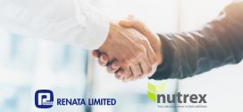 Renata Ltd and Nutrex are happy to announce their new partnership